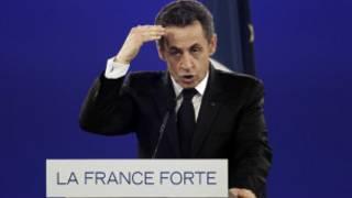 Shugaba Sarkozy na Faransa