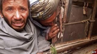 Dolor en Afganistán
