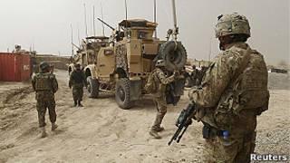 Abasirikare b'abanyamerika muri Afghanistani