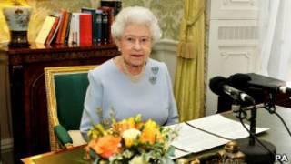 英女王伊麗莎白二世錄製英聯邦日講話
