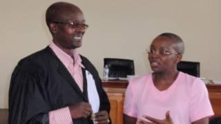 Victoire Ingabire na Maitre Gatera Gashabana