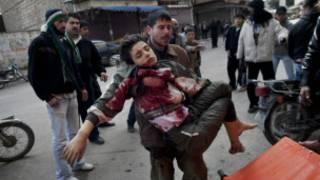 Bạo lực đẫm máu ở Homs
