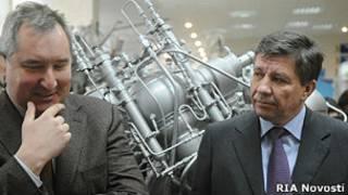 Дмитрий Рогозин и Владимир Поповкин