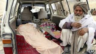 پیکر قربانیان غیرنظامی افغان