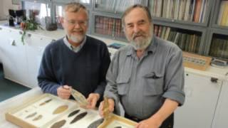 Os cientistas Bradley (esq.) e Stanford, em foto de divulgação