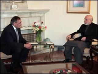 Rais Karzai na Bw.Panetta