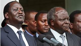 Shugaban kasar Kenya da Praministansa