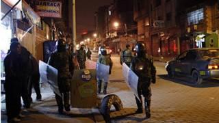 Soldados na Bolívia | Foto: AP
