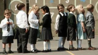 Ученики британской начальной школы