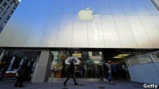 Магазин фирмы Apple в Сан-Франциско