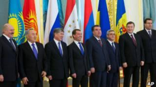 Президенты стран-членов ЕврАзЭС