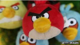 """تطبيق """"الطيور الغاضبة"""""""