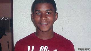 Trayvon Martin.   Foto: Reuters