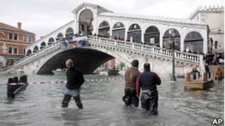 Inundação em Veneza