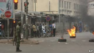 На улицах Бамако
