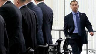 Медведев после заседания