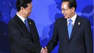 Thủ tướng Nguyễn Tấn Dũng và Tổng thống Lee Myung-bak