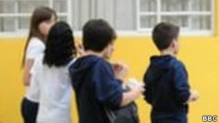 Бразильские школьники