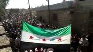يرفعون علم سوريا ما قبل البعث