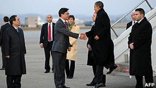 اوباما يصل الى كوريا الجنوبية