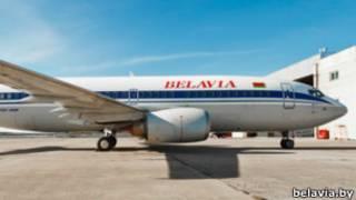 """Самолет """"Белавиа"""""""