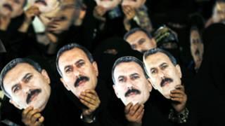 مؤيدون للرئيس السابق يتظاهرون في صنعاء
