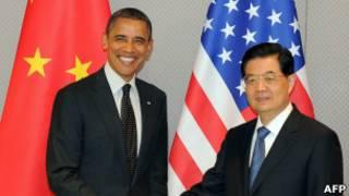 Ông Barack Obama và ông Hồ Cẩm Đào