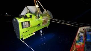 Tàu ngầm Deepsea Challenger của James Cameron