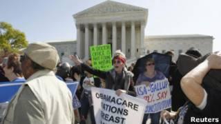 Протесты против реформы здравоохранения в США