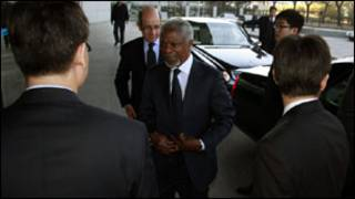 Kofi Annan a China