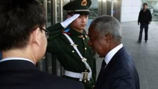 Kofi Annan muri Chine