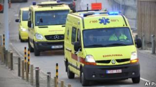 Ambulâncias na Áustria