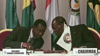 Kadre Desire Ouedraogo da Alassane Ouattara