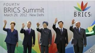 Shugabannin kasashen BRICS