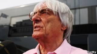 بيرني ايكلستون مالك الحقوق التجارية لسباق السيارات العالمي فورميولا-1