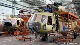 Ми-17 на Казанском заводе