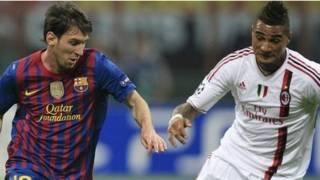 Lionel Messi, Kevin Prince Boateng