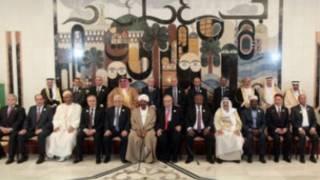 القادة العرب بقمة بغداد