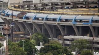 عمليات تطوير ملعب الماركانا الشهير في ريو دي جانيرو