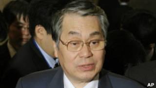 وزير الدفاع الياباني