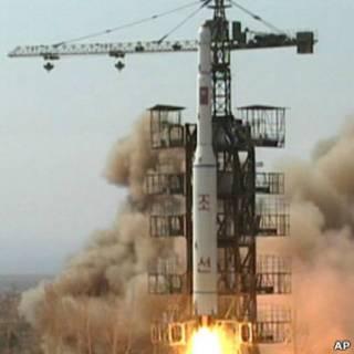 پرتاب موشک کره شمالی - سال 2009