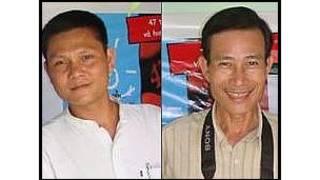 Ông Phan Thanh Hải (trái) và Nguyễn Văn Hải