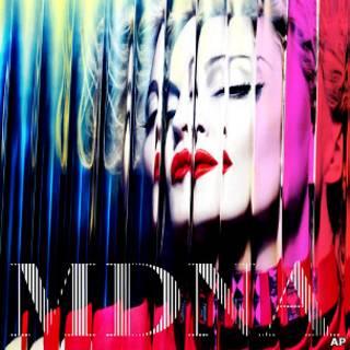 麥當娜新專輯封面