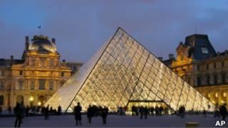 Louvre (Foto: AP)