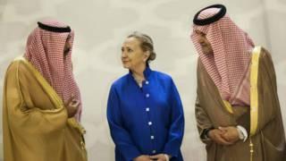 كلينتون في الرياض