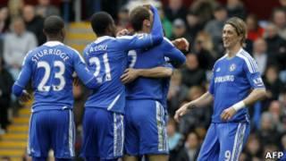 Abakinnyi ba Chelsea