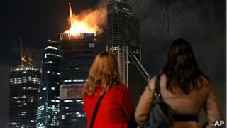 آتشسوی در مسکو