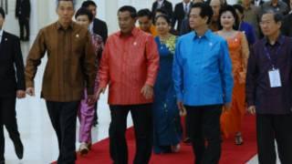 Các vị lãnh đạo Asean tại Phnom Penh