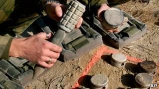 مین ضد نفر در افغانستان