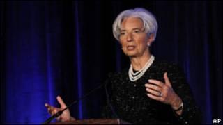 كرستين لاجارد رئيسة صندوق النقد الدولي